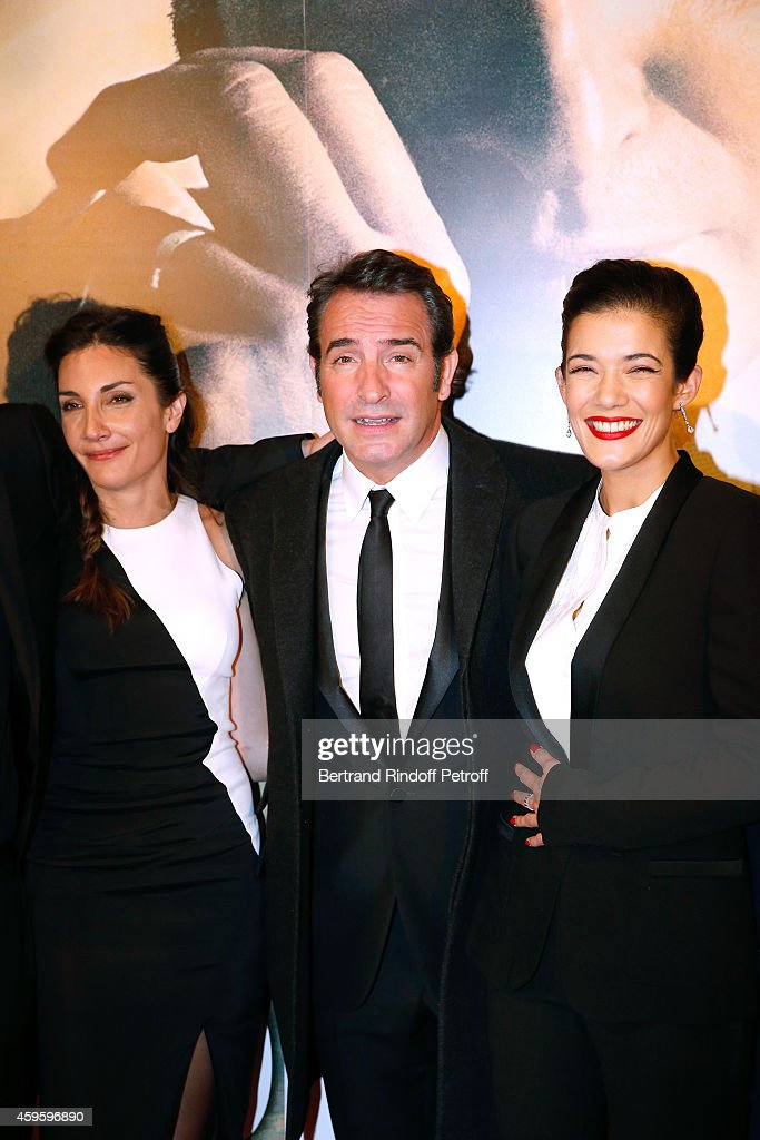 Paris premiere cinema gaumont capucine getty images for Jean dujardin parents