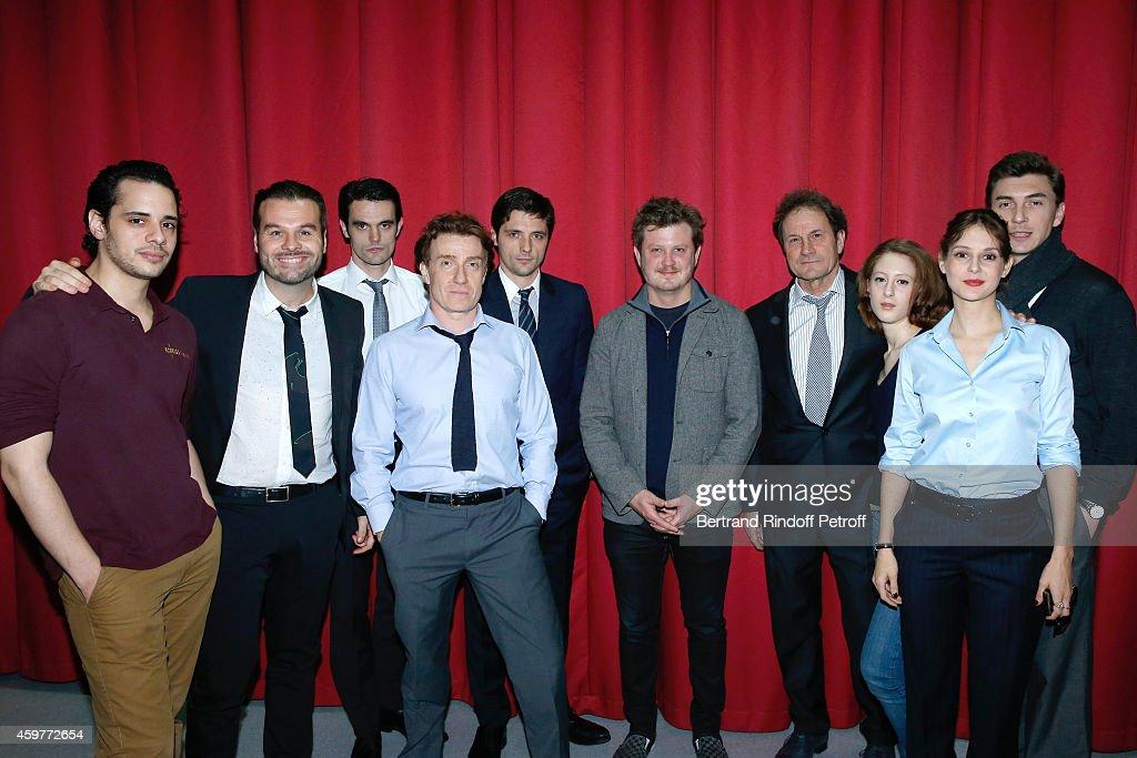 'Les Cartes Du Pouvoir' : Photocall At Theater Hebertot In Paris