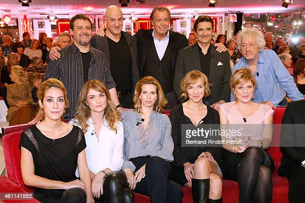 Team of the Theater Piece 'Le tombeur' Actors Guy Lecluyse Chick Ortega Main guest of the show Michel Leeb Xavier Goulard director JeanLuc Moreau...