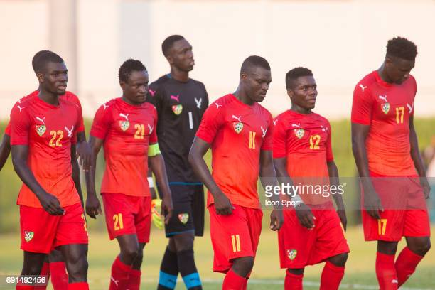 team of Togo during the soccer friendly match between Nigeria and Togo on June 1 2017 in St LeulaForet France