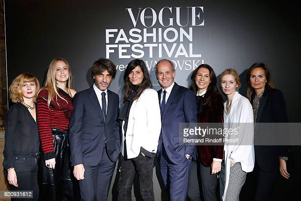 Team of Vogue Anne Laure Sugier guest Deputy editor of Vogue Paris and editor of Vogue Hommes International Olivier Lalanne Chief Editor of Vogue...