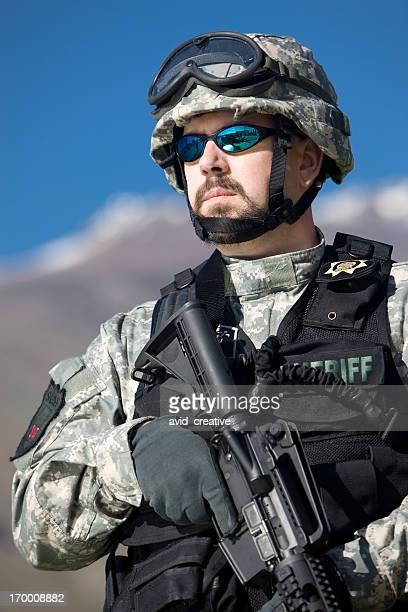 SWAT Team Officer Portrait