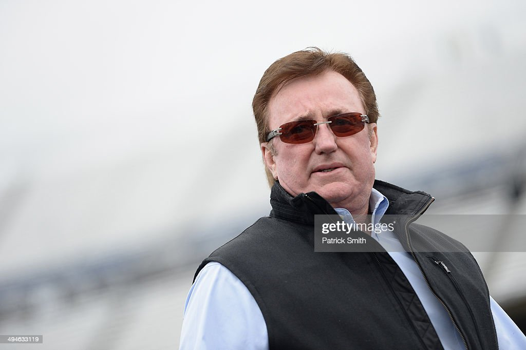 Team owner Richard Childress looks on during practice for the NASCAR Nationwide Series Buckle Up 200 Presented by Click it or Ticket at Dover...