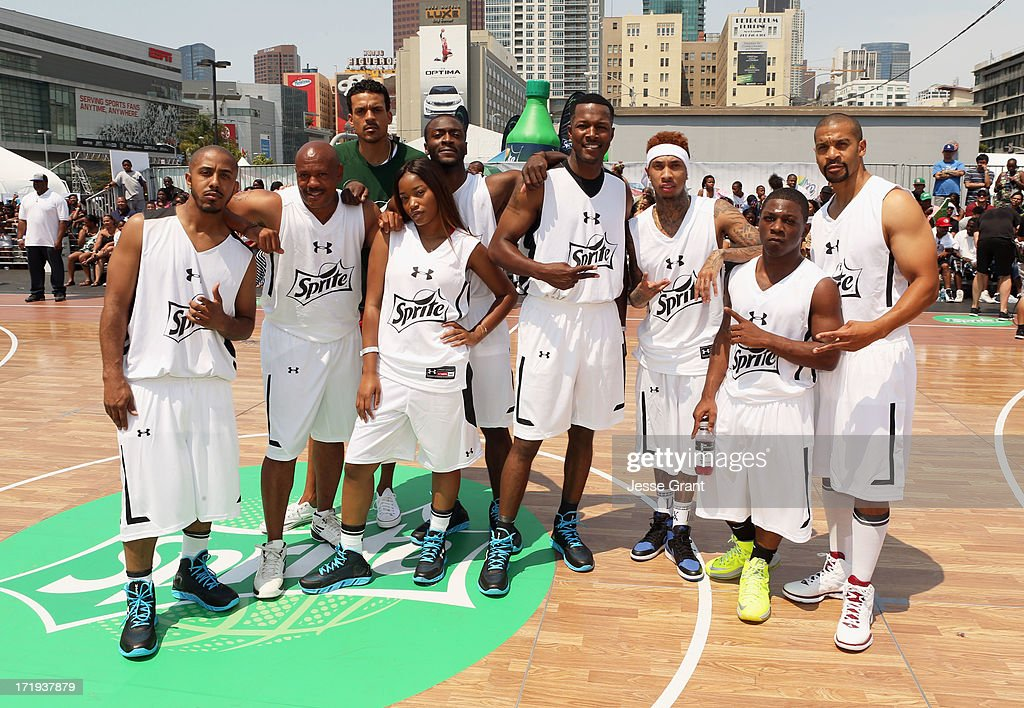 Team photo at the Sprite Court during the 2013 BET Experience at L.A. LIVE on June 29, 2013 in Los Angeles, California.