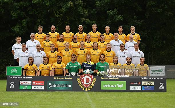 Team photo back row from left JimPatrick Mueller Giuliano Modica Pascal Testroet Justin Eilers Robert Andrich Johann Weiss Quirin Moll Robin Fluß...