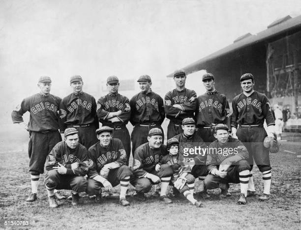 Team portrait of the Chicago White Sox baseball team Chicago Illinois mid 1910s