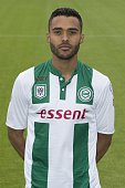 team presentation Abel Tamata during the team presentation of FC Groningen on July 01 2016 at the Euroborg in Groningen The Netherlands