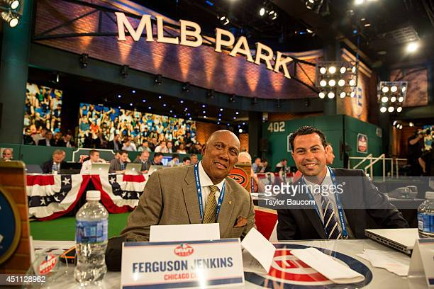 Team representatives are seen during the 2014 FirstYear Player Draft Thursday June 5 at MLB Network's Studio 42 in Secaucus New Jersey