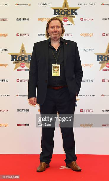 Team Rock Ceo Billy Anderson attends the red carpet for the Classic Rock Awards at Ryogoku Kokugikan on November 11 2016 in Tokyo Japan