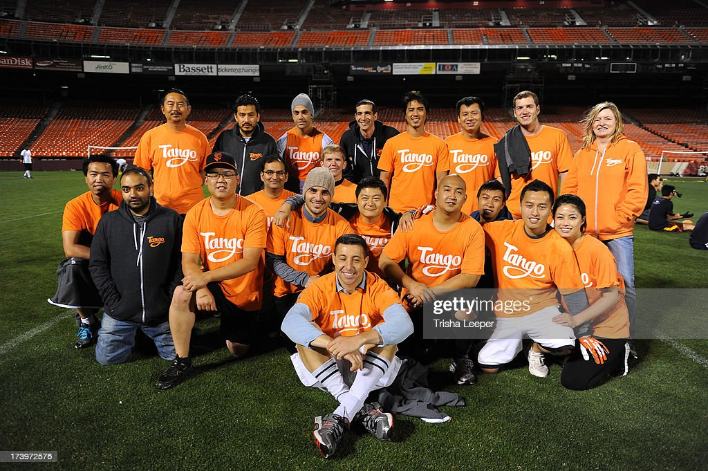 Team Tango attends Founder Institute's Tech Carnival 2013 at Candlestick Park on July 17, 2013 in San Francisco, California.