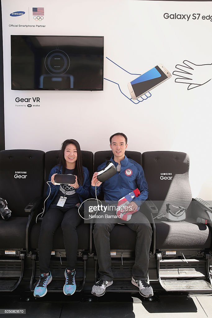 "Samsung At The ""100 Days Out"" Team USA's Road To Rio Celebration In New York City"