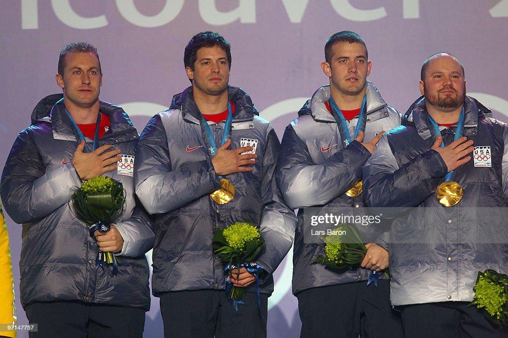 Whistler Medal Ceremony - Day 16