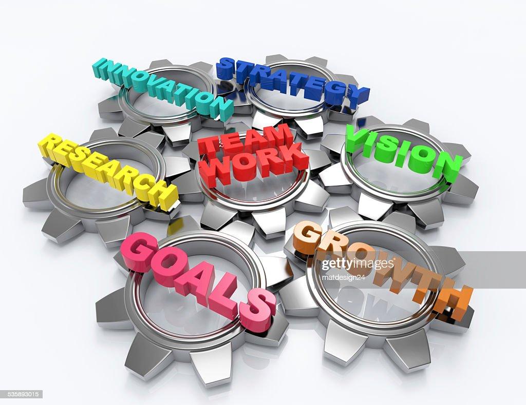 Team Work  Concept : Stockfoto
