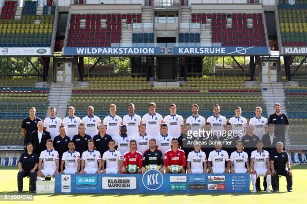 teamfoto back row from left'rAthletikTrainer Florian Boeckler Andreas Hofmann Jonas Foehrenbach David Pisot'rKai Buelow Daniel Gordon Dominik...