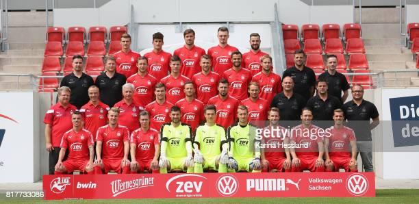 Teamphoto Front row from left Christian Mauersberger Fridolin Wagner Christoph Goebel Goalkeeper Johannes Brinkies Goalkeeper Max Sprang Goalkeeper...