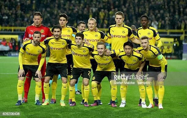 Teampicture 'nvl Roman Weidenfeller Marc Barta Borussia Dortmund Sebastian Rode Borussia Dortmund Matthias Ginter Ousmane Dembele Borussia Dortmund...