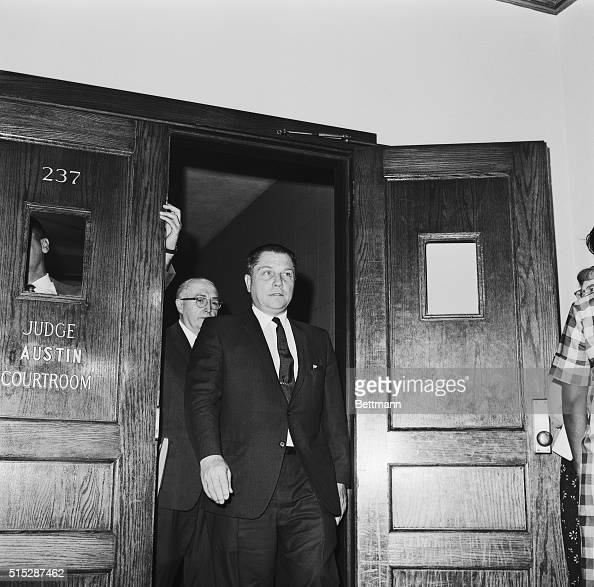 Jimmy Hoffa Emerging from Courtroom Pictures | Getty Images