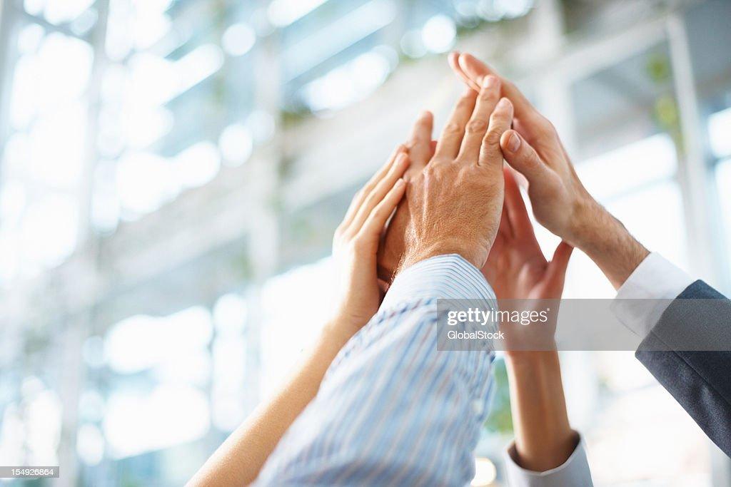 Teamwork and team spirit : Stock Photo