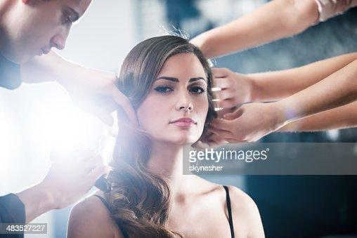 Teamwork at the hair salon.