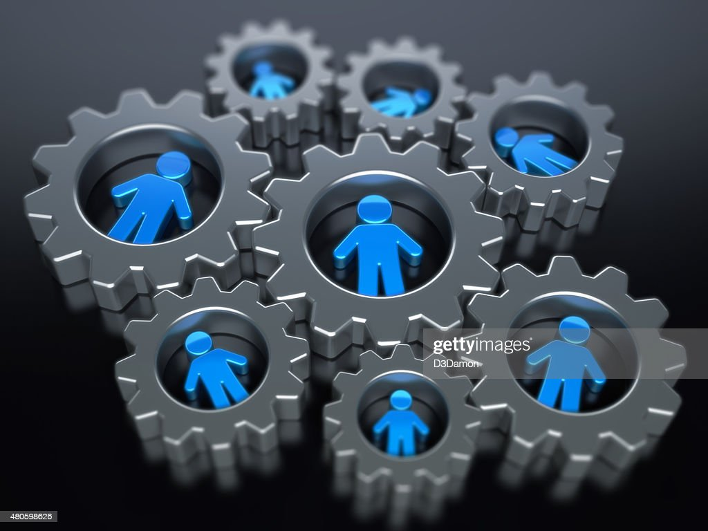 Teamwork Concept : Stock Photo