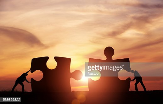 Teamwork concept : Stock Photo