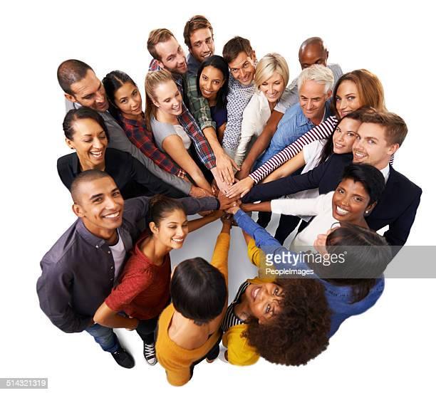 Gute Teamarbeit verteilt eine Aufgabe auf mehrere Schultern und vervielfacht den Erfolg