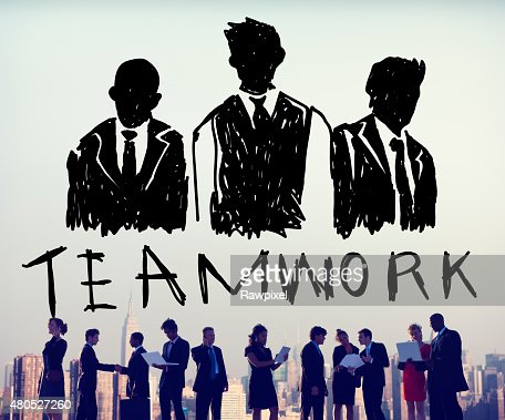 Teamwork Group Collaboration Organization Concept : Stock Photo