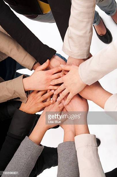 Teamwork Hands Clasped