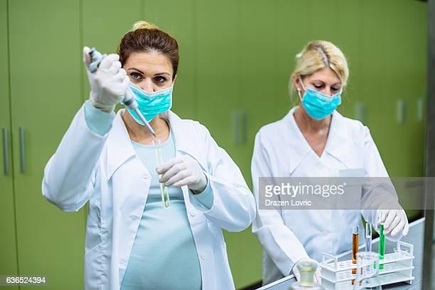Teamwork in modern laboratory