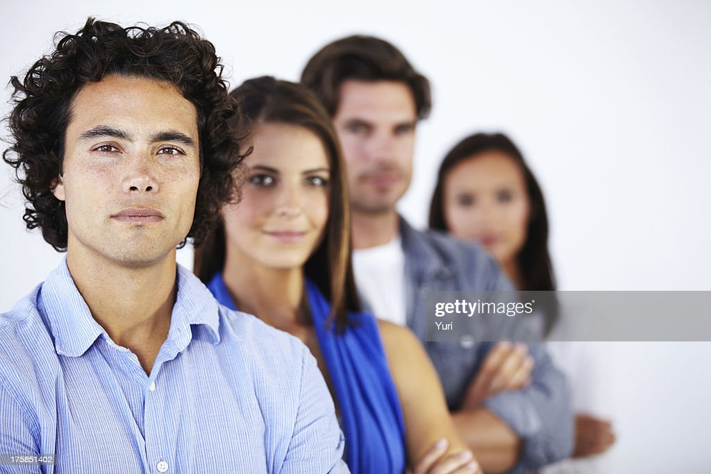 Teamwork leads to success : Stock Photo