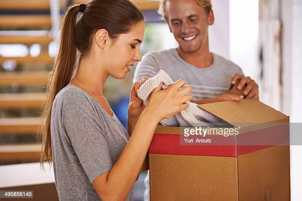 Teamwork makes packing easier