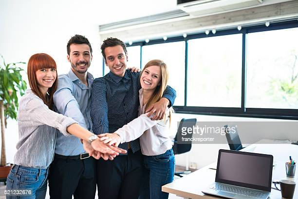 teamwork people in the office
