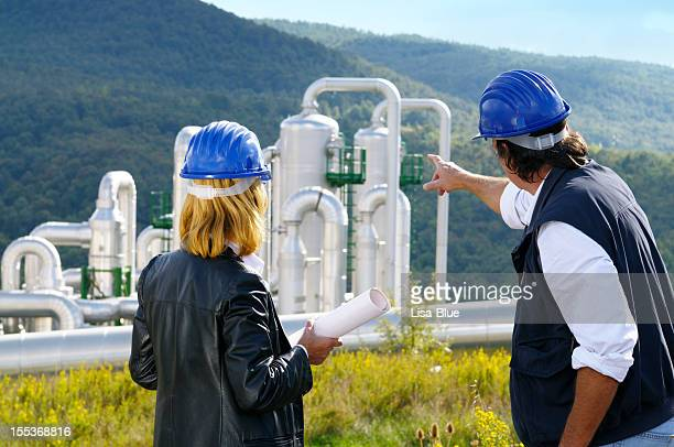Teamwork Planning in a Geothermal Power Station