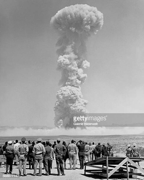 Teapot MET detonated on a 400foot tower over Frenchman Flat with a yield of 22 KT 15th April 1955 Operation Teapot was a series of fourteen nuclear...