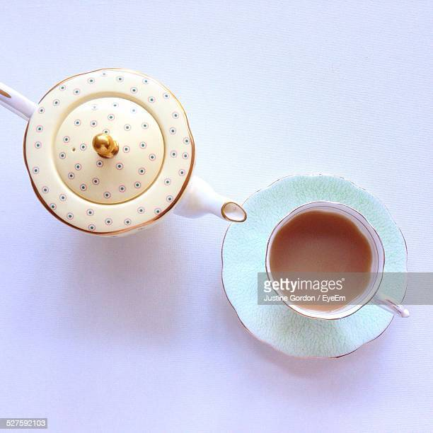 Teapot With Tea Cup
