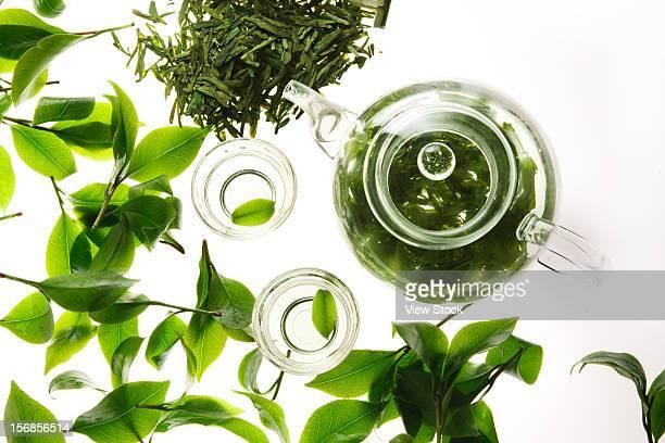 Tea,teapot and teacup
