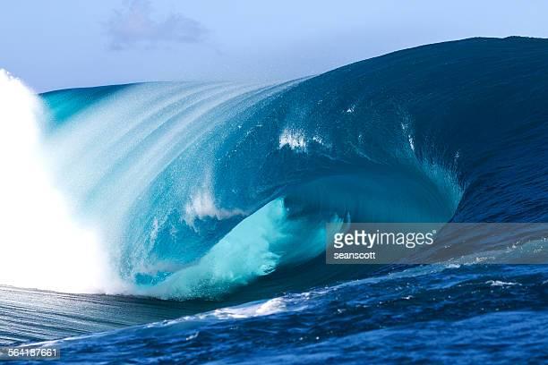 Teauhpoo Wave, Tahiti, French Polynesia