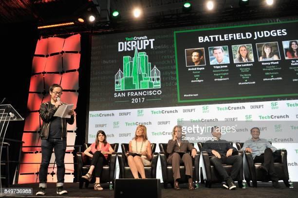 TechCrunch Host and Senior Writer Anthony Ha eBay Director of Data Science Dr Kira Radinsky DBL Partners Founder and Managing Partner Nancy Pfund The...