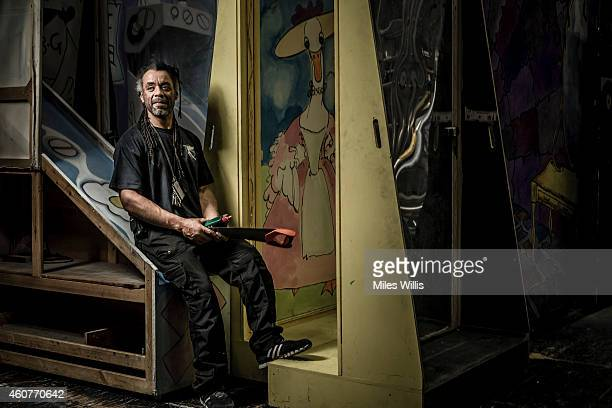 Technical manager Othman Reid poses for a portrait backstage at Hackney Empire on December 17 2014 in London England Hackney Empire is currently...