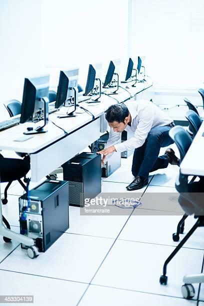 Il servizio tecnico in Laboratorio informatico