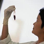 Technician at Blood Bank