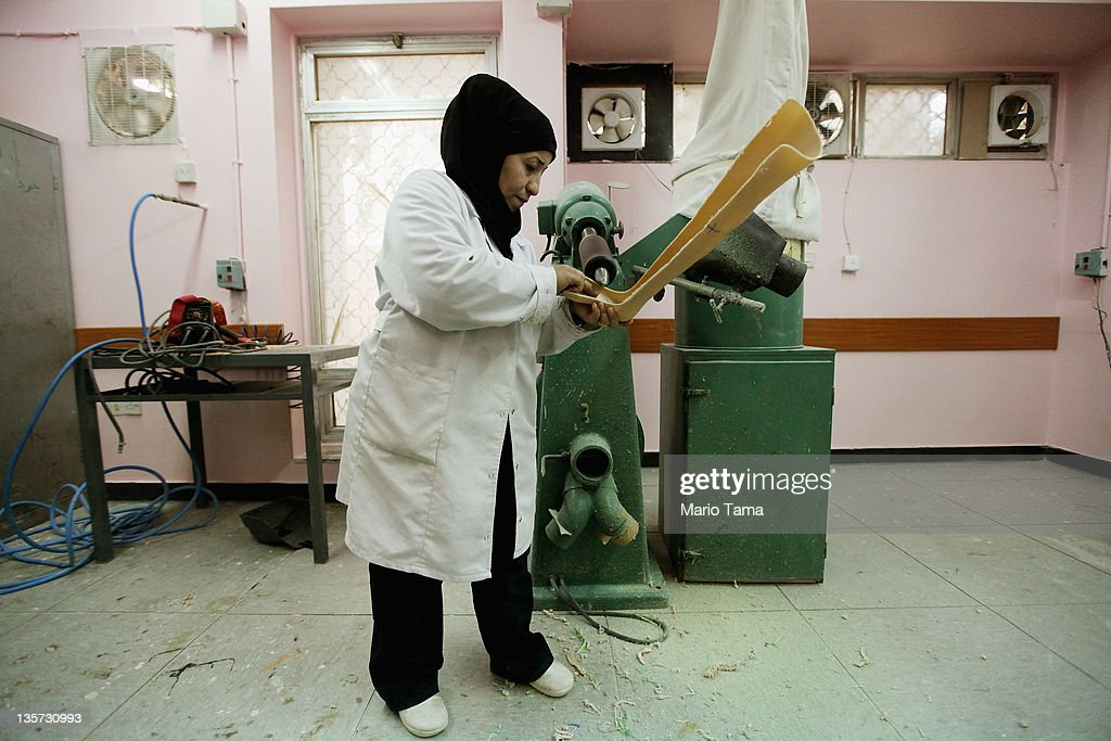 A technician works on a prosthetic at the Factory of Prosthetic Limbs on December 13, 2011 in Baghdad, Iraq. Wounded Iraqis face a shortage of the outdated prosthetics due to a spike in war-related injuries in recent years. Iraq's health care system remains in shambles following two decades of war and economic sanctions. Following the 2003 U.S. invasion, thousands of physicians fled the country while others were killed. Some physicians have since returned but there is still a critical shortage of doctors. Iraq is transitioning nearly nine years after the 2003 U.S. invasion and subsequent occupation. American forces are now in the midst of the final stage of withdrawal from the war-torn country. At least 4,485 U.S. military personnel have died in service in Iraq. According to the Iraq Body Count, more than 100,000 Iraqi civilians have died from war-related violence.