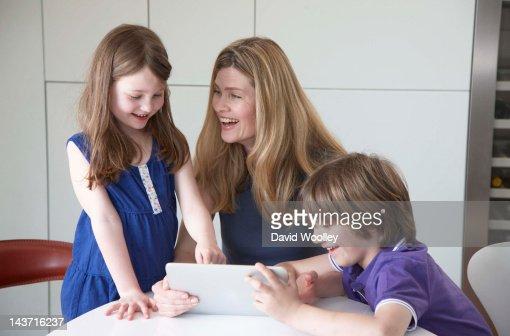 Techno Kids : Stock Photo