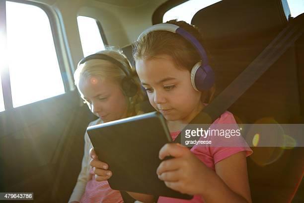 Technological travel packs for kids