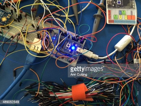 Technological Waste : Stock Photo