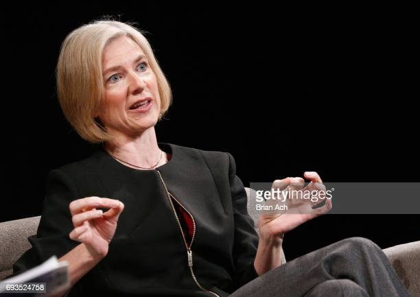 Technology CoInventor CRISPRCAS9 Jennifer Doudna speaks onstage at WIRED Business Conference Presented By Visa At Spring Studios In New York City on...