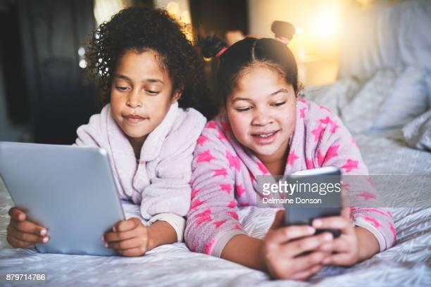 Technologie-Spaß mit meiner Schwester