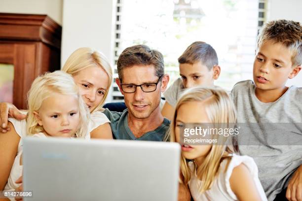 Technology keeps them all entertained