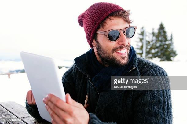 Technology on the snow