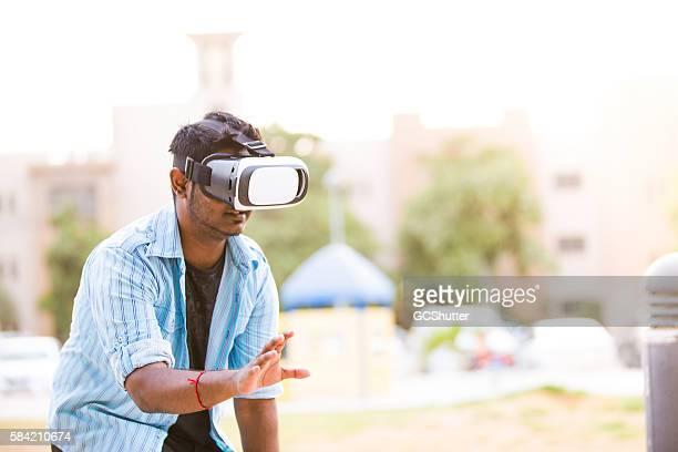 VR technoloy is sensational